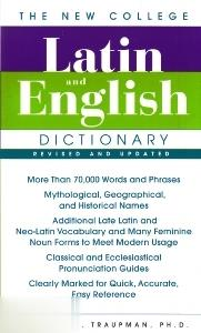 The New College Latin And English Dic