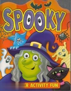 Spooky 4 Sticker Activity Fun