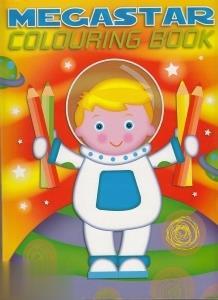 Megastar Colouring Book