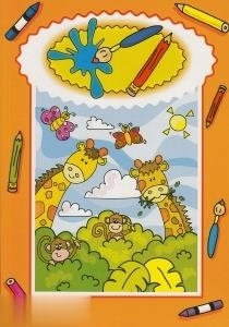 International Range Colouring Book