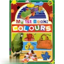 My 1st Book Colours