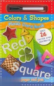 Colors & Shapes Flash Card Book