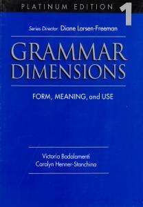 Grammar Dimension 1 SB WB
