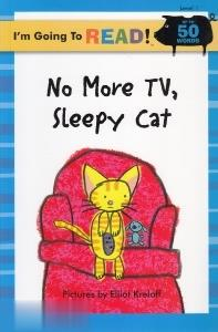 No More Tv  Sllepy Cat 1