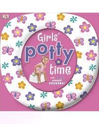 Girls Potty Time