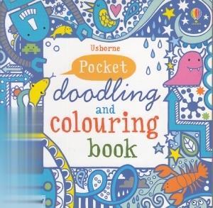 Pocket Doodling & Colouring Book