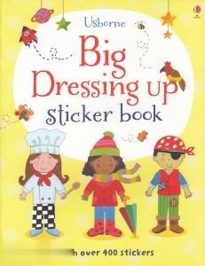 Big Dressing Up Sticker Book