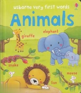 Usborne Very First Words Animals