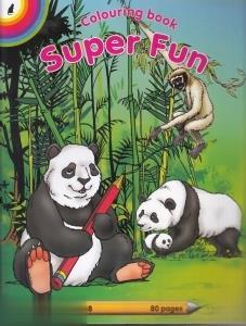 Colouring Book Super Fun
