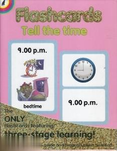 Flashcards Tell the Time