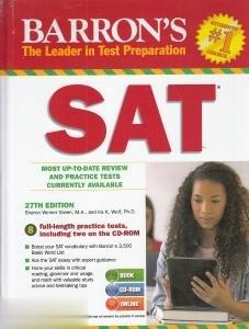 Barrons the Leader in Test Preparation SAT CD