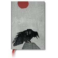 Crow With Red Sun Midi 02