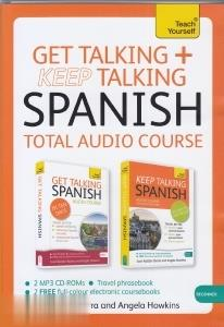 Get Talking Keep Talking Spanish Total Audio Course