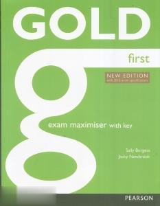 Gold First Exam Maximiser With Key