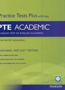Practice Tests Plus With Key PTE Academic CD