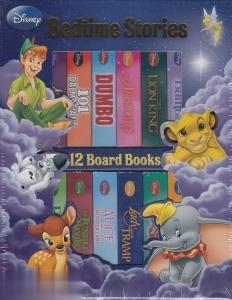 Disnep Bedtime Stories 12 Board Books
