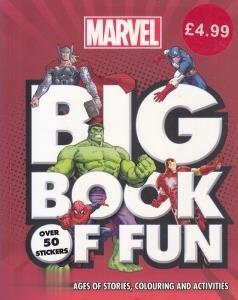 Big Book of Fun Marvel