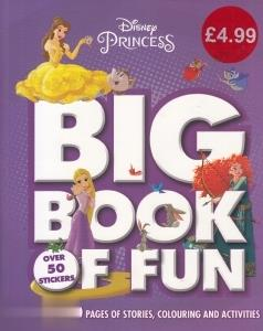 Big Book Of Fun Disney Princess
