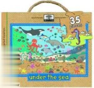 Green Start Giant Floor Puzzle Under The Sea