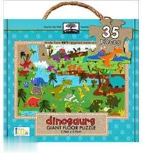 Green Start Giant Floor Puzzle Dionsaurs