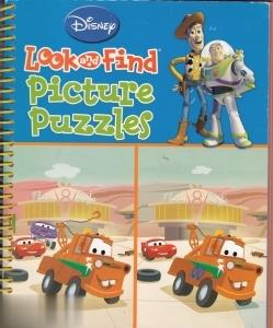 Look and Find Picture Puzzles Disnep