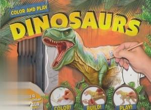 Color and Play Dinosaurs