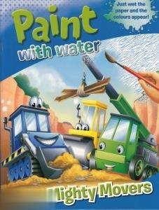 Paint With Water Mighty Movers