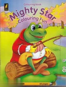 Colouring Book Mighty Star Colouring Fun