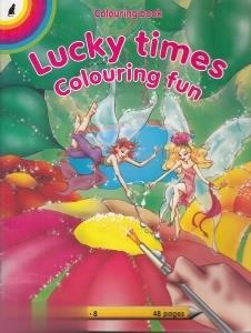 Colouring Lucky Times Colouring Fun