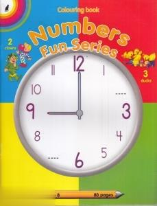Colouring Lucky Numbers Fun Series