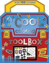 My Cool Coloring Tool Box