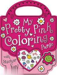 My Pretty Pink Coloring Purse