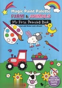 Farm & Animals Magic Paint Palette 3613