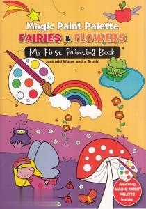 Fairies & Flowers Magic Paint Palette 3620