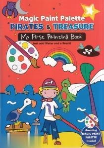 Pirates & Treasure Magic Paint Palette 3644