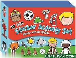 My Mini Sticker Activity Set (پسرانه)