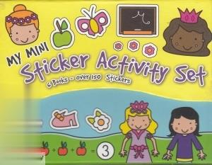 My Mini Sticker Activity Set (دخترانه)