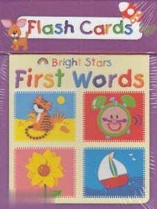 (First Words Bright Star (Flash Card