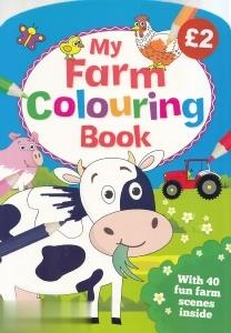 My Farm Colouring Book 4511
