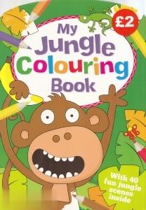 My Jungle Colouring Book 4528