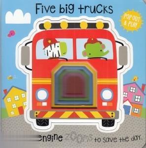 Five Big Trucks 3844