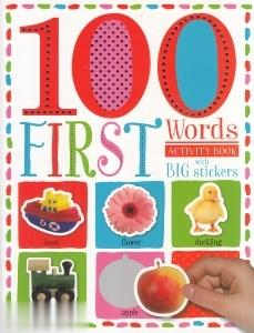 100First Words with Big Stickers