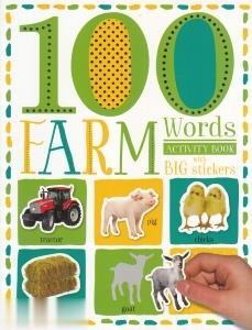 100Farm Words with Big Stickers