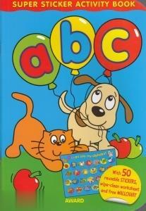 ABC Super Sticker Activity Book