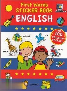 First Words Sticker Book English