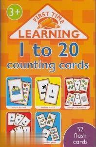 1 to 20 Counting Cards