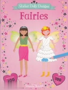 Sticker Dolly Designs Fairies