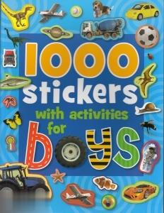 Stickers With Activities For Boys 1000