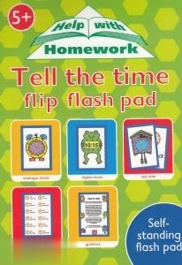Tell the Time Flip Flash Pad