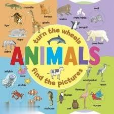 Turn the Wheels Animals Find the Pictures 7132